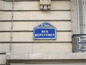 Rue Dupuytren