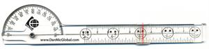 Danmic Goniometer with VAS scale