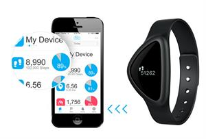 Fitness Activity and Sleep Tracker - A30 iChoice - Wireless Bluetooth