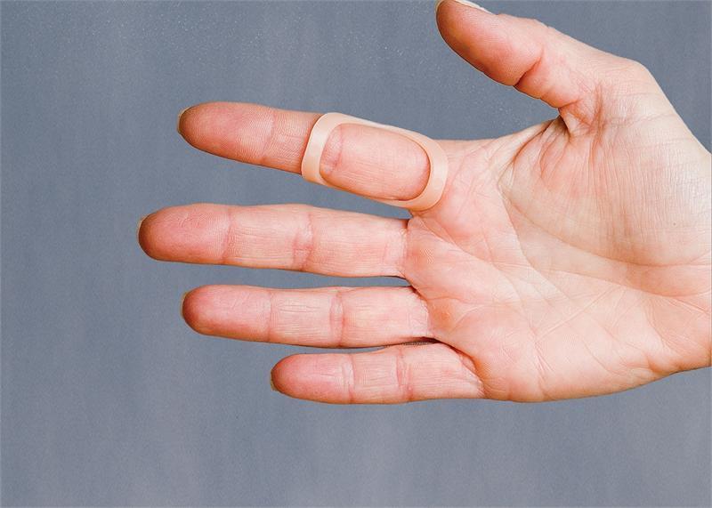 Oval 8 Finger Splint Size 9